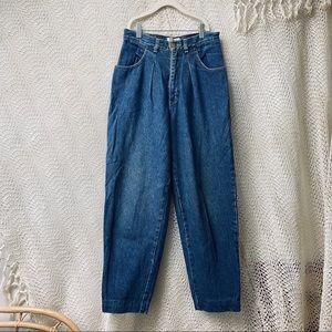 Vtg High Waisted Mom Jeans